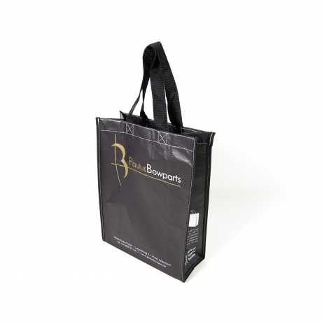 Tolle PET Recycling Tasche mit Sonderfarbe GOLD